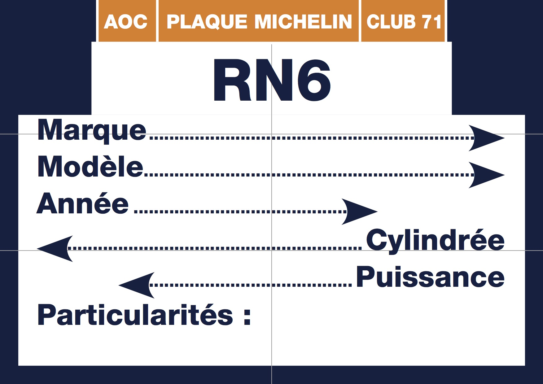 Plaque-Michelin RN6 1